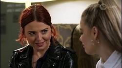 Nicolette Stone, Chloe Brennan in Neighbours Episode 8474