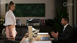 Chloe Brennan, Pierce Greyson in Neighbours Episode 8474