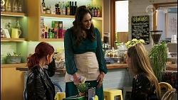 Nicolette Stone, Dipi Rebecchi, Chloe Brennan in Neighbours Episode 8474
