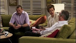 Toadie Rebecchi, Susan Kennedy, Karl Kennedy in Neighbours Episode 8476