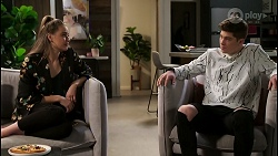 Chloe Brennan, Hendrix Greyson in Neighbours Episode 8476