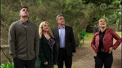 Kyle Canning, Sheila Canning, Paul Robinson, Roxy Willis in Neighbours Episode 8476