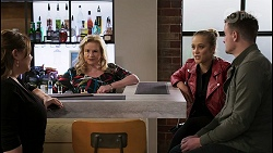 Terese Willis, Sheila Canning, Roxy Willis, Kyle Canning in Neighbours Episode 8476