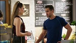 Chloe Brennan, Aaron Brennan in Neighbours Episode 8476