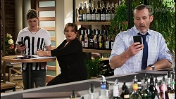 Hendrix Greyson, Terese Willis, Toadie Rebecchi in Neighbours Episode 8476
