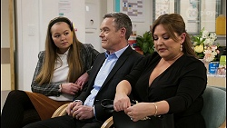 Harlow Robinson, Paul Robinson, Terese Willis in Neighbours Episode 8477