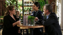 Terese Willis, Yashvi Rebecchi, Paul Robinson in Neighbours Episode 8477