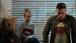 Sheila Canning, Roxy Willis, Kyle Canning in Neighbours Episode 8478