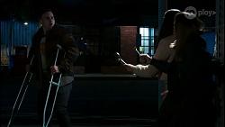 Kyle Canning, Yashvi Rebecchi, Bea Nilsson in Neighbours Episode 8478