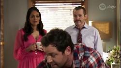 Dipi Rebecchi, Shane Rebecchi, Toadie Rebecchi in Neighbours Episode 8479