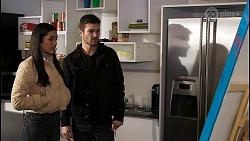 Yashvi Rebecchi, Ned Willis in Neighbours Episode 8479