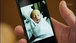 Pierce Greyson, Baby Rowsthorn in Neighbours Episode 8479
