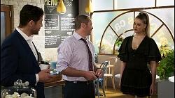 Pierce Greyson, Toadie Rebecchi, Chloe Brennan in Neighbours Episode 8479