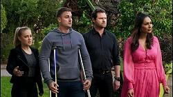 Roxy Willis, Kyle Canning, Shane Rebecchi, Dipi Rebecchi in Neighbours Episode 8479