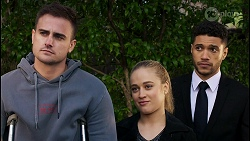 Kyle Canning, Roxy Willis, Levi Canning in Neighbours Episode 8479