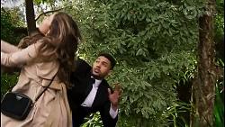 Scarlett Brady, Levi Canning in Neighbours Episode 8480