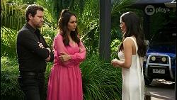 Shane Rebecchi, Dipi Rebecchi, Yashvi Rebecchi in Neighbours Episode 8480