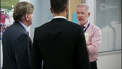 Det. Bill Graves, Levi Canning, Clive Gibbons in Neighbours Episode 8480