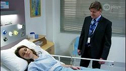 Scarlett Brady, Det. Bill Graves in Neighbours Episode 8480