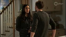 Yashvi Rebecchi, Ned Willis in Neighbours Episode 8480