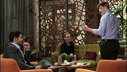 Pierce Greyson, Chloe Brennan, Hendrix Greyson in Neighbours Episode 8481