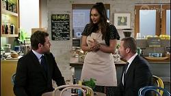 Shane Rebecchi, Dipi Rebecchi, Toadie Rebecchi in Neighbours Episode 8481
