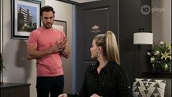 Aaron Brennan, Chloe Brennan in Neighbours Episode 8481