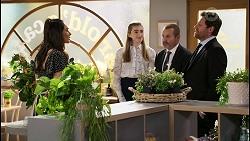 Dipi Rebecchi, Mackenzie Hargreaves, Toadie Rebecchi, Shane Rebecchi in Neighbours Episode 8481