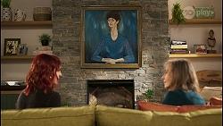 Nicolette Stone, Nell Mangel, Jane Harris in Neighbours Episode 8482