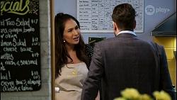 Dipi Rebecchi, Pierce Greyson in Neighbours Episode 8482