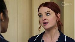 Audrey Hamilton, Nicolette Stone in Neighbours Episode 8483