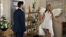 Pierce Greyson, Chloe Brennan in Neighbours Episode 8484