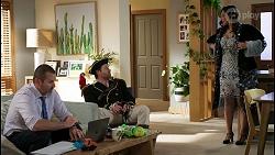 Toadie Rebecchi, Shane Rebecchi, Dipi Rebecchi in Neighbours Episode 8484
