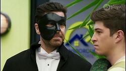 Pierce Greyson, Hendrix Greyson in Neighbours Episode 8485