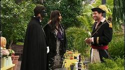 Pierce Greyson, Dipi Rebecchi, Shane Rebecchi in Neighbours Episode 8485