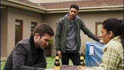 Ned Willis, Levi Canning, Yashvi Rebecchi in Neighbours Episode 8485