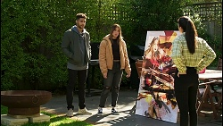 Levi Canning, Bea Nilsson, Scarlett Brady, Yashvi Rebecchi in Neighbours Episode 8485