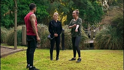 Levi Canning, Roxy Willis, Bea Nilsson in Neighbours Episode 8486