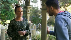 Bea Nilsson, Levi Canning in Neighbours Episode 8486