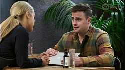 Roxy Willis, Kyle Canning in Neighbours Episode 8486
