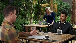 Kyle Canning, Sheila Canning, Levi Canning in Neighbours Episode 8486