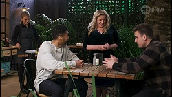 Roxy Willis, Levi Canning, Sheila Canning, Kyle Canning in Neighbours Episode 8487