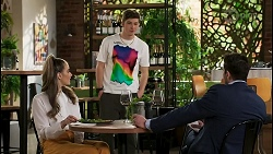 Chloe Brennan, Hendrix Greyson, Pierce Greyson in Neighbours Episode 8488