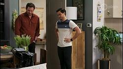 Shane Rebecchi, David Tanaka in Neighbours Episode 8489