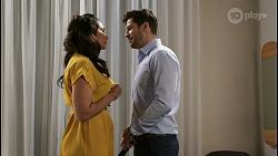 Dipi Rebecchi, Pierce Greyson in Neighbours Episode 8489