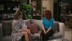 Chloe Brennan, Pierce Greyson, Nicolette Stone in Neighbours Episode 8490