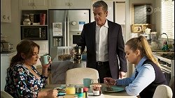 Terese Willis, Paul Robinson, Harlow Robinson in Neighbours Episode 8490