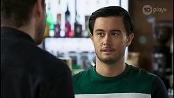 Pierce Greyson, David Tanaka in Neighbours Episode 8491
