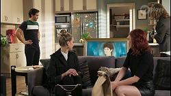 David Tanaka, Chloe Brennan, Nell Mangel, Nicolette Stone, Jane Harris in Neighbours Episode 8491