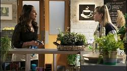 Dipi Rebecchi, Chloe Brennan in Neighbours Episode 8491